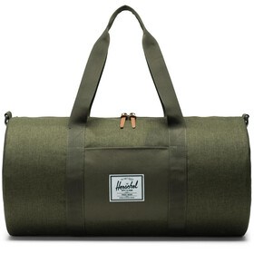 Herschel Sutton Mid-Volume Duffle, olive night crosshatch/olive night